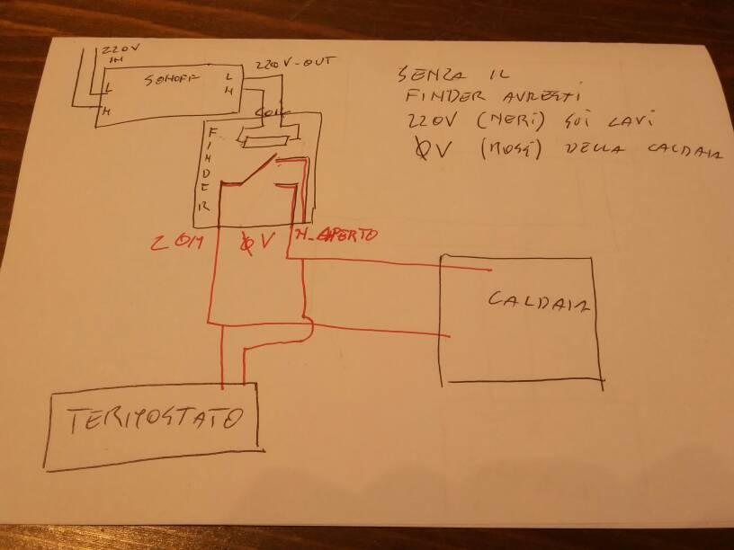 Sonoff Collegamento Con Termostato A Batteria Pagina 2