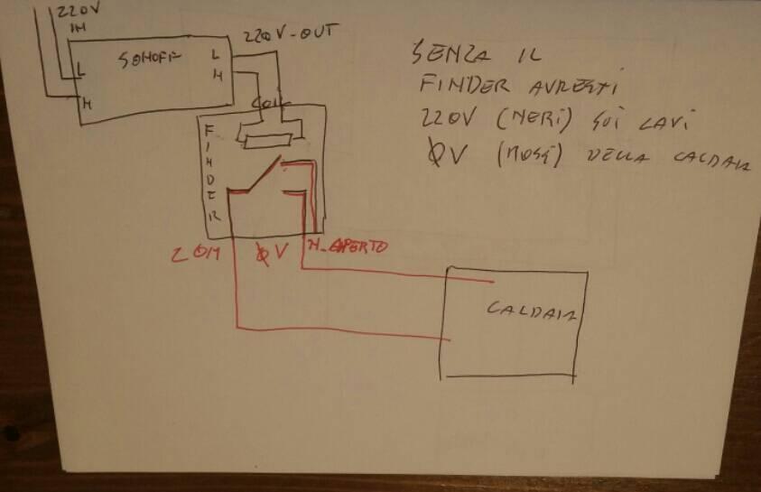 Schema Collegamento Di Termostati A Elettrovalvole E Caldaia : Sonoff collegamento con termostato a batteria pagina