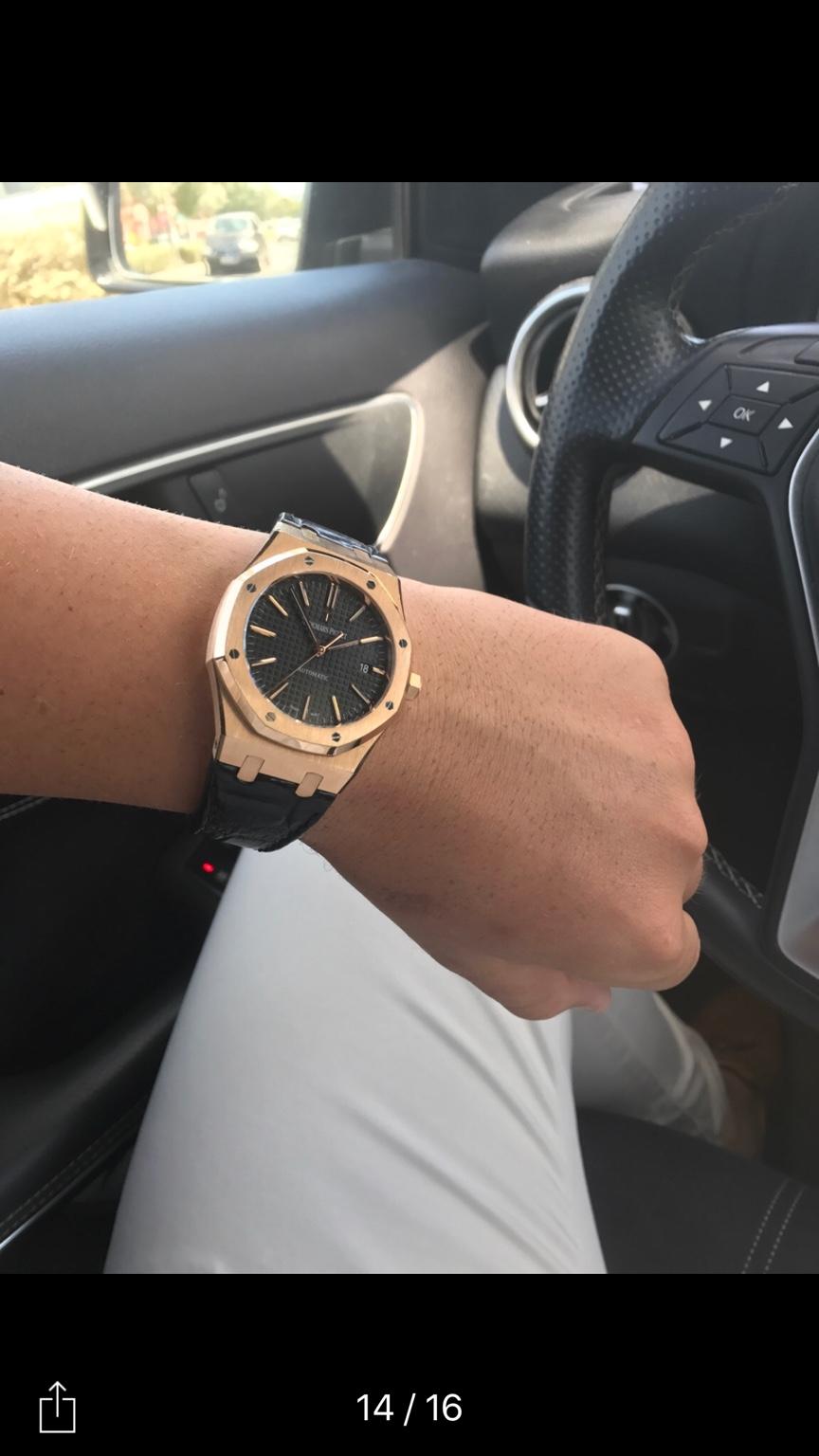 Anyone got a JF Rose Gold RO? - Replica Watch Info