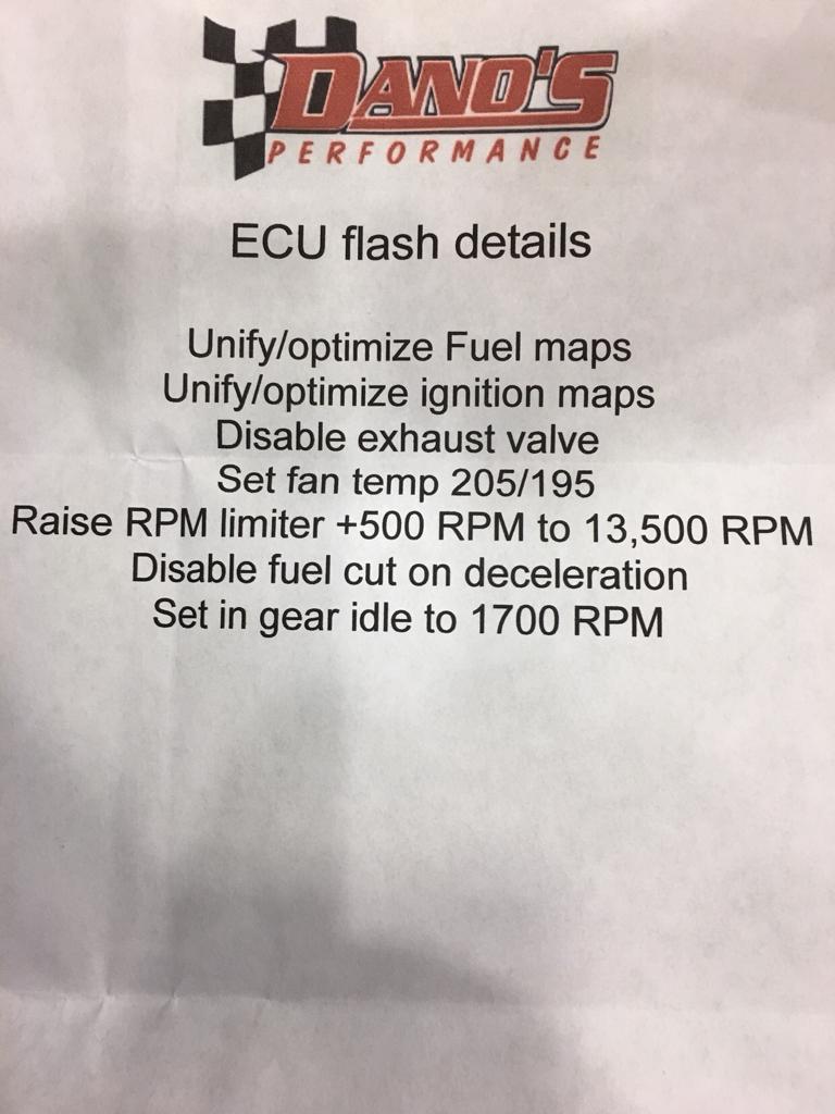 ECU reflash - Fort Worth Motorcycle Riders
