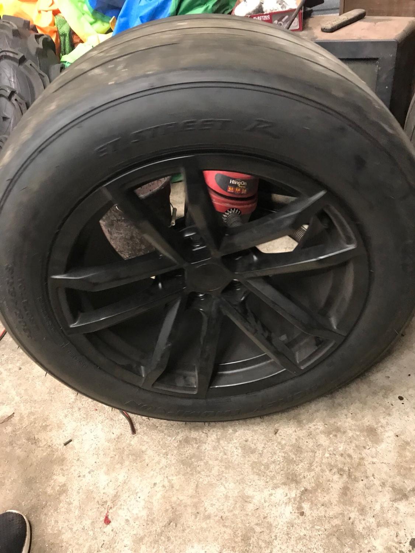 Corvette For Sale Near Me >> Zl1 replica wheels with 305/45/18 Mickey Thompson et ...