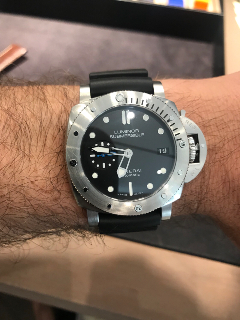 I Have An Itch 116610lv Or Panerai 42mm Submersible 682 Rolex