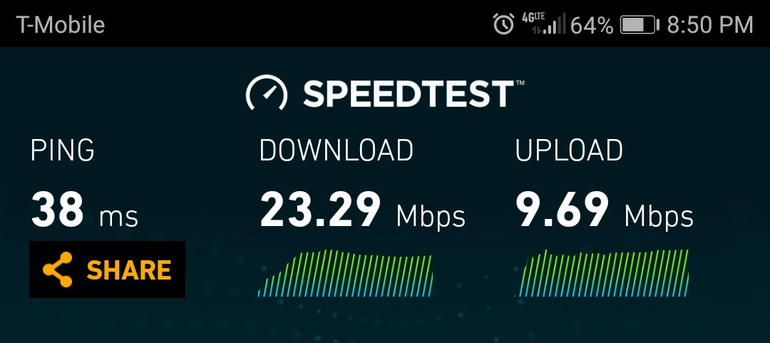Extremely slow wi-fi on USA model of 7X? - Android Forums at