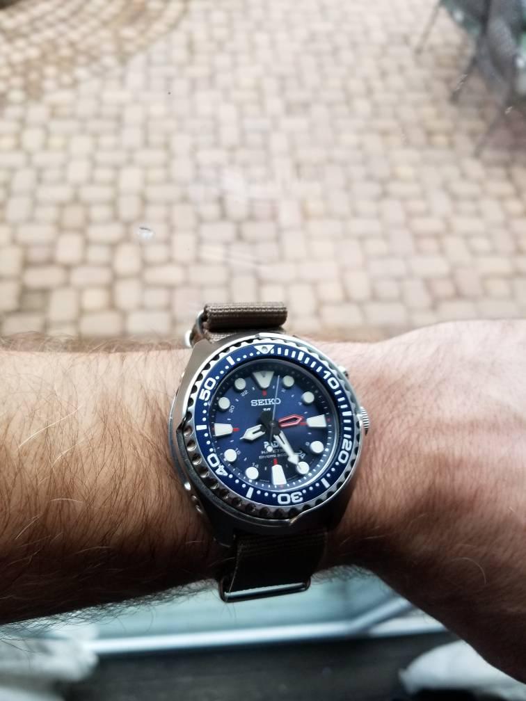 Seiko Padi Sun065 Gmt Diver
