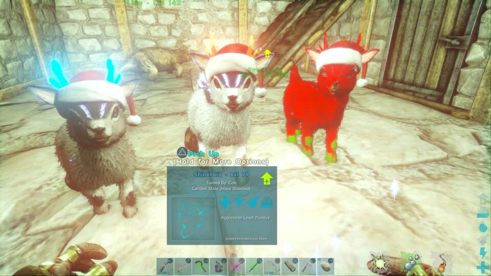 Post Your Xmas Event Tames - General Discussion - ARK