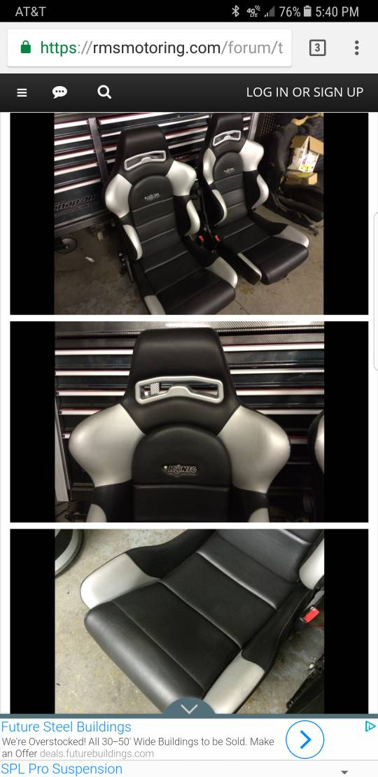VWVortex com - Racing seats, r32 vs aftermarket