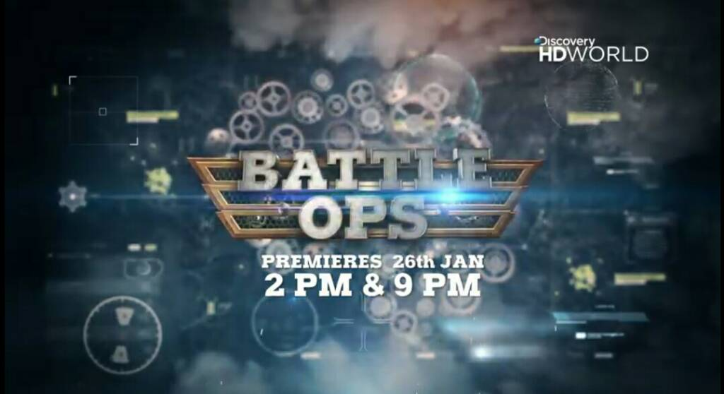 Battle OPS | premieres 26th January, 2pm & 9pm | Discovery HD World