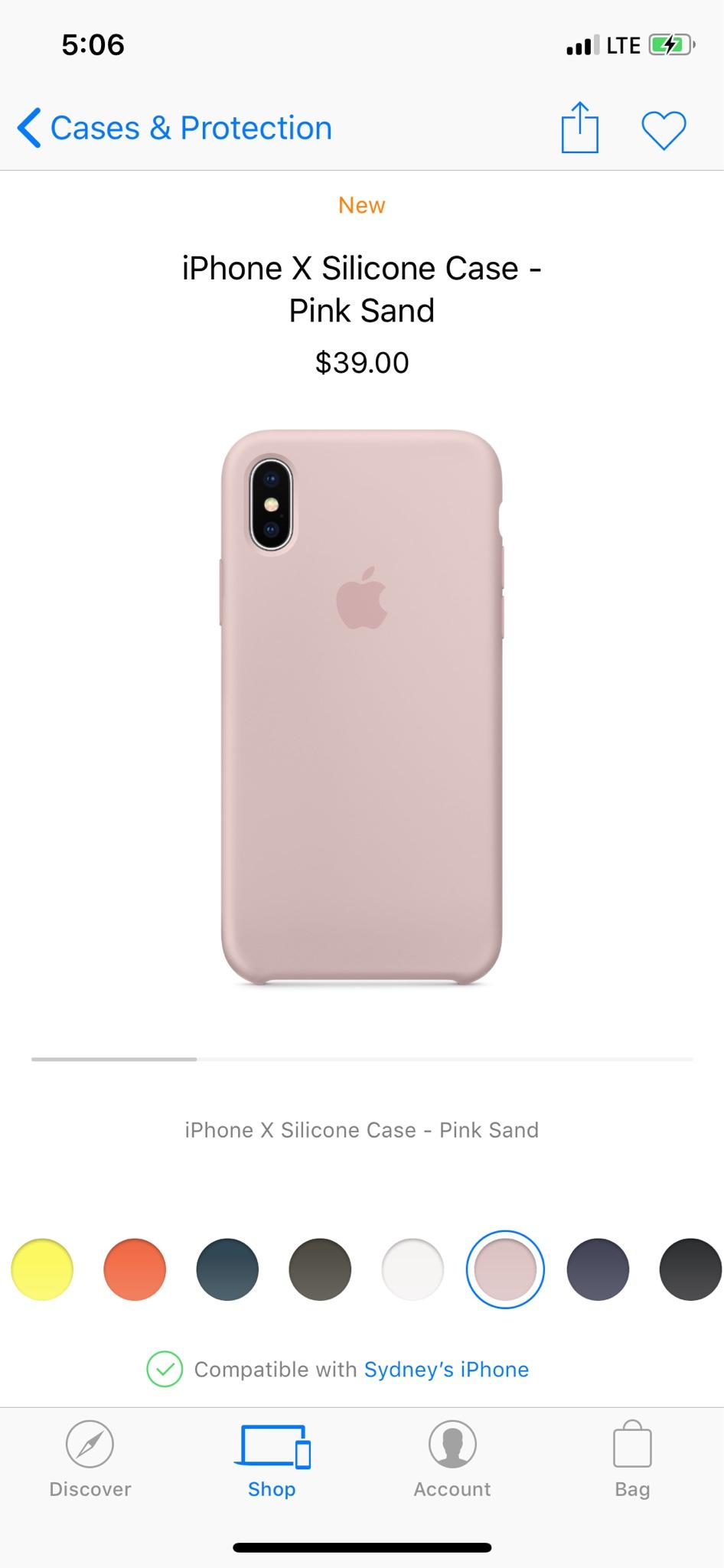 half off 672b1 e0e9e Thin pink Case iPhone X - iPhone, iPad, iPod Forums at iMore.com
