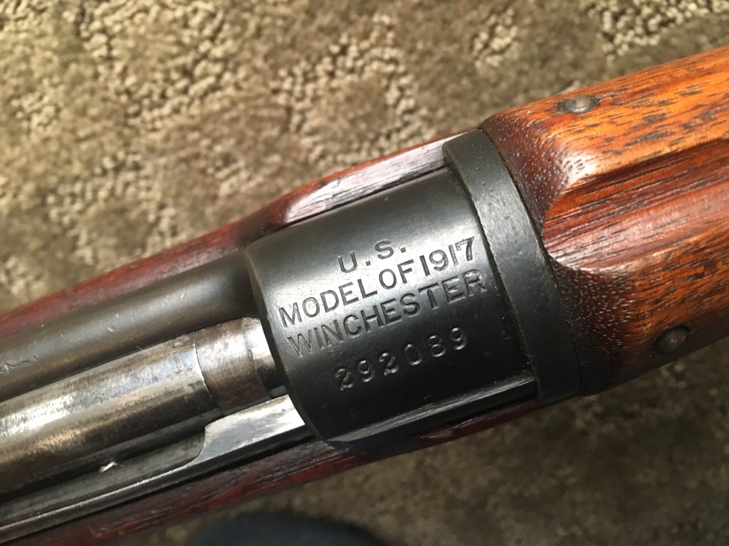 M1903 or M917 - send me to school [Archive] - Maryland Shooters