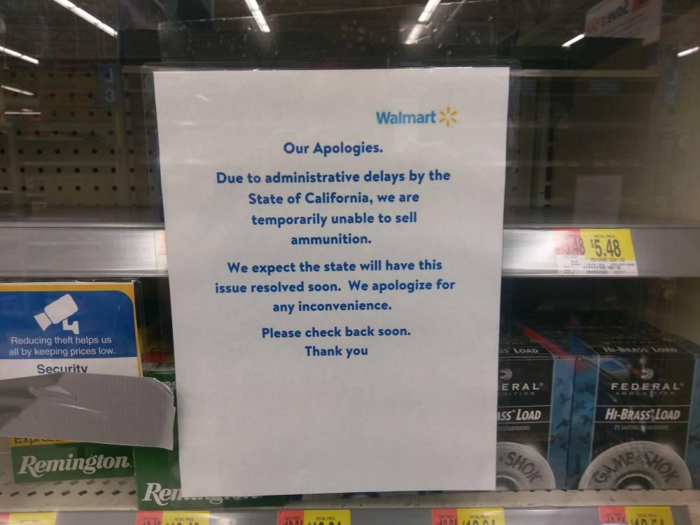 Walmart 2018 Stores that Sell Ammo List - Calguns net