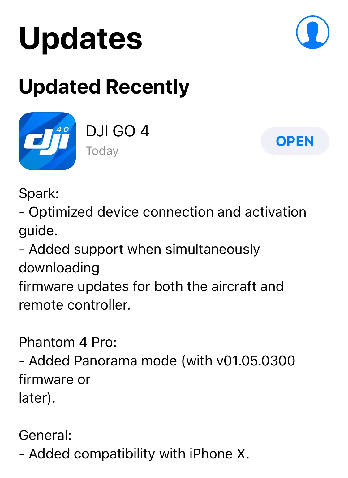 iPhone X Full Screen Update | DJI Mavic Drone Forum