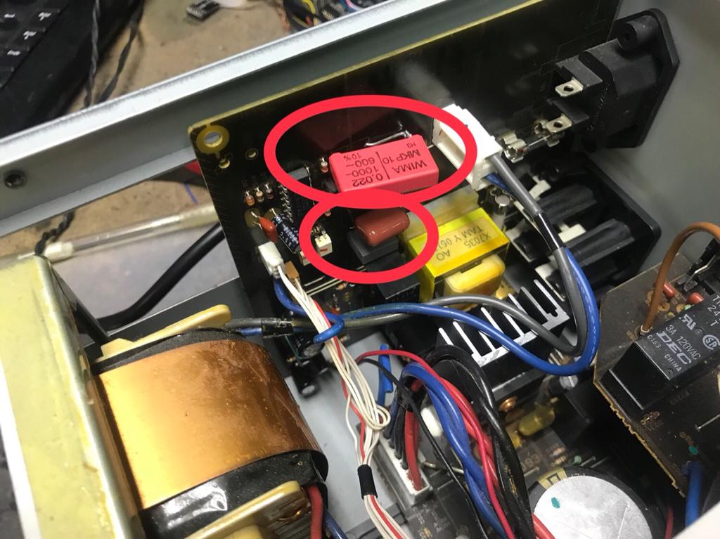 Yamaha RX-V 1600 Receiver Einschaltfehler - KOPTERFORUM   AT