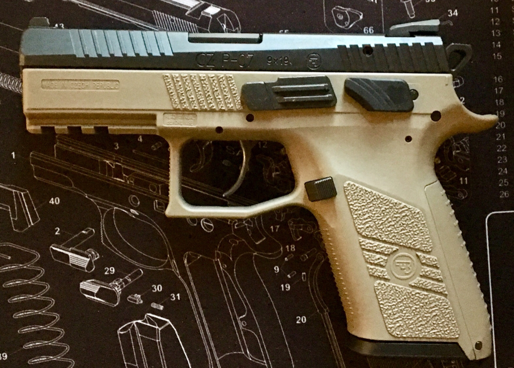 New CZ P-07 = Mind Blown [Archive] - pistol-forum com