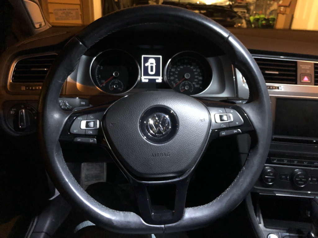 Golf 1 8t ACC/DSG Steering wheel to Golf R steering wheel | OBDeleven