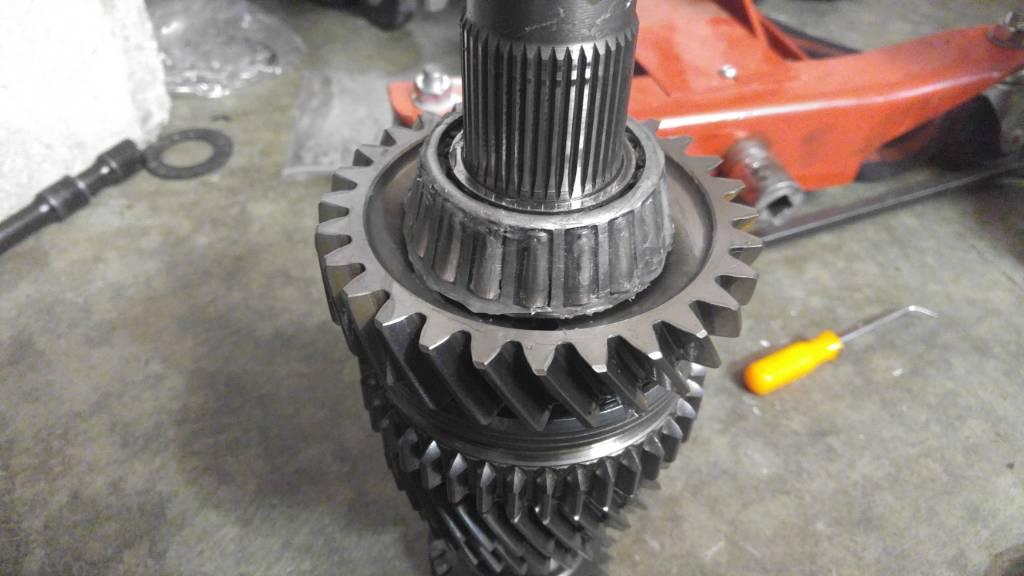 Audi 01e rebuild