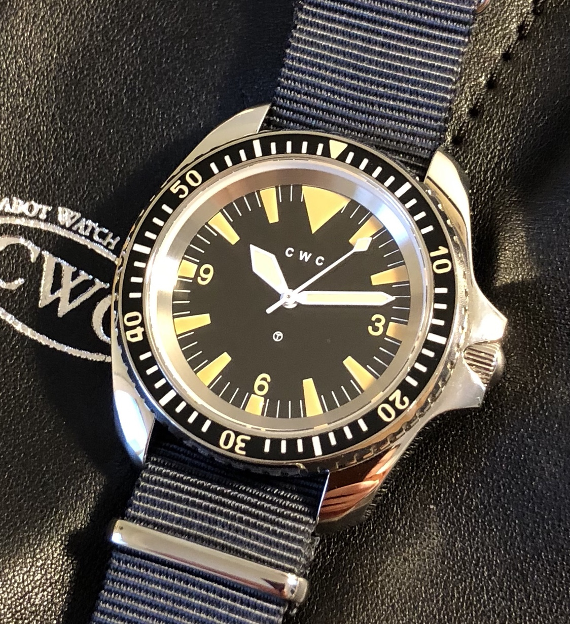 Cwc 1980 Royal Navy Divers Automatic Reissue