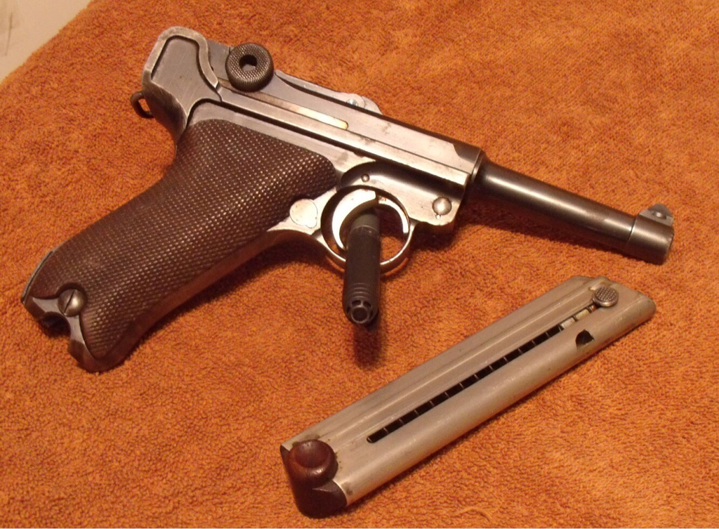 1920 DWM Luger -$850 plus shipping and Inland M1 Carbine