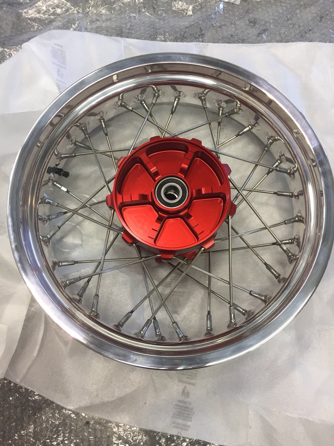 Finally I Received My New Alpina Wheels Triumph Forum Triumph - Alpina motorcycle wheels