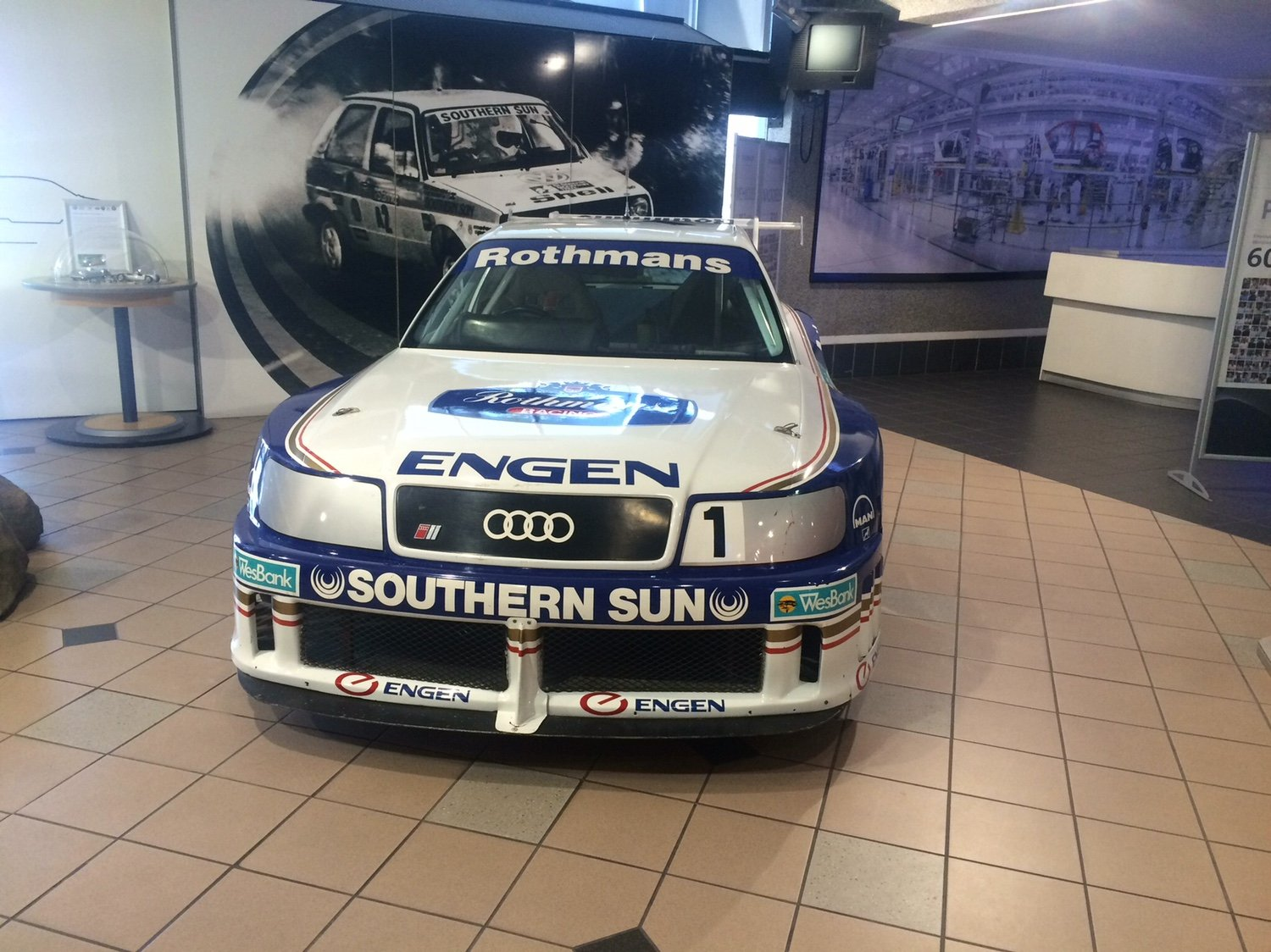 Rothmans Audi A4 B5 Touring Cars The Volkswagen Club Of South Africa