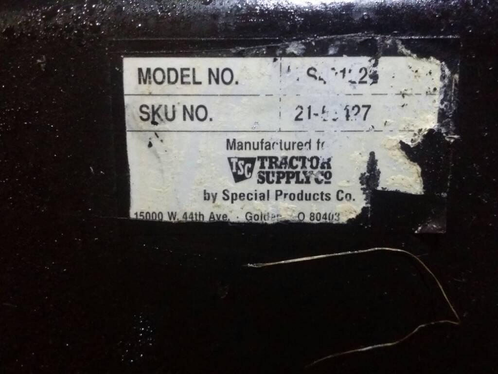 Help! Huskee 35 Ton log splitter - need parts, manual or