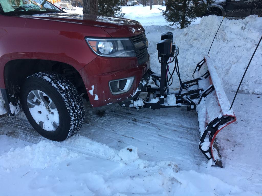 2018 Chevy Colorado >> Chevy Colorado & GMC Canyon - Snow Plow