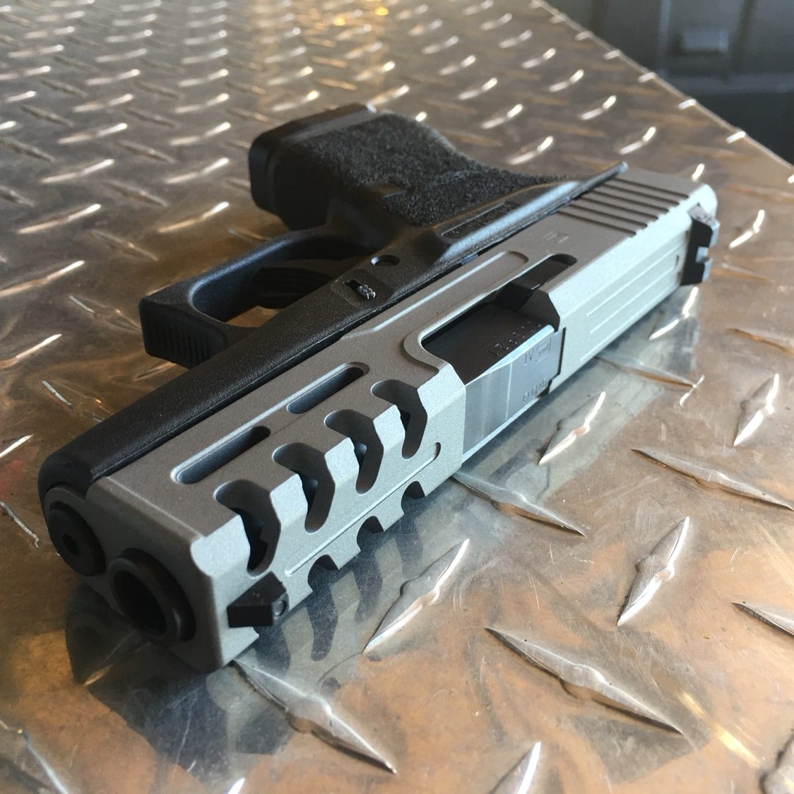 Glock slide milling