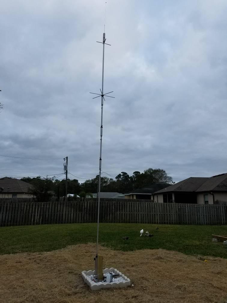 Homebrew hustler mast