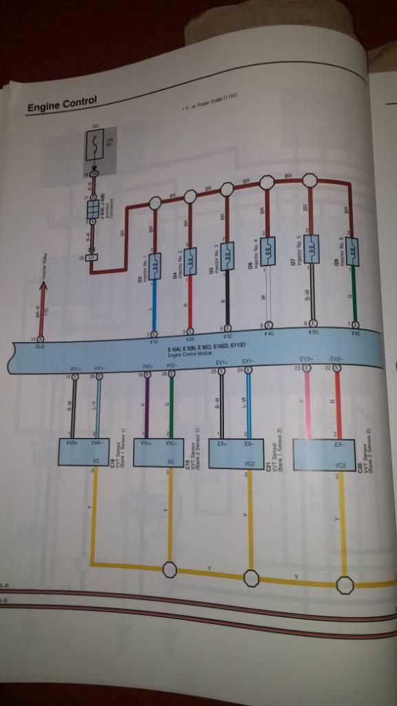 Picture of Camshaft connector wires? | Toyota Sienna Forum - siennachat.com | 2007 Toyota Sienna Engine Diagram Camshaft |  | Toyota Sienna Forum