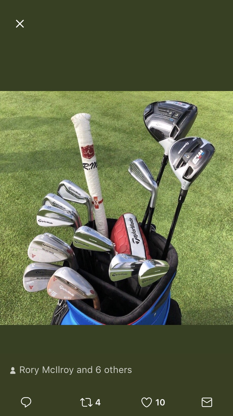987ad95d85b6d Rory McIlroy WITB in Dubai - Tour and Pre-Release Equipment - GolfWRX