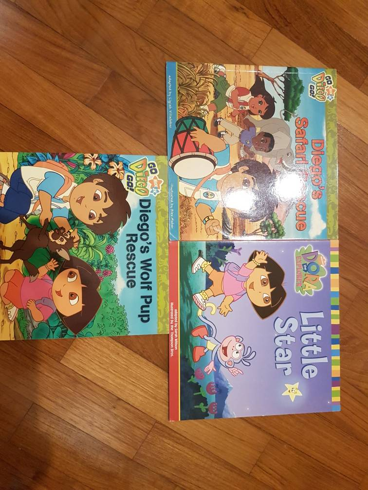 Dora story books | SingaporeMotherhood Forum