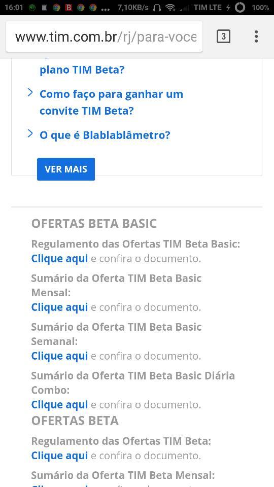Oficialmob Tim Beta 2 Solicitaçõesanúncio Ban Página 150