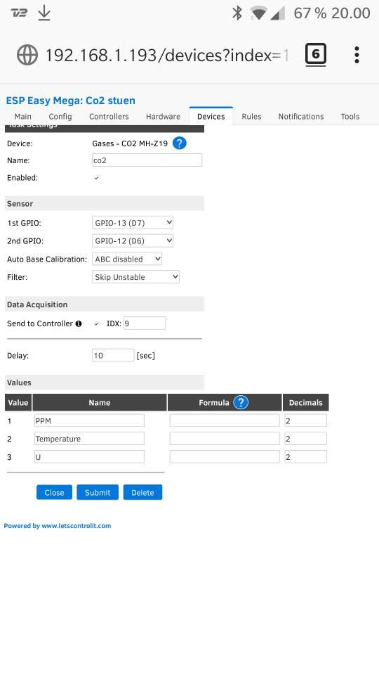 ESP8266 Air quality sensor - Page 5 - Domoticz