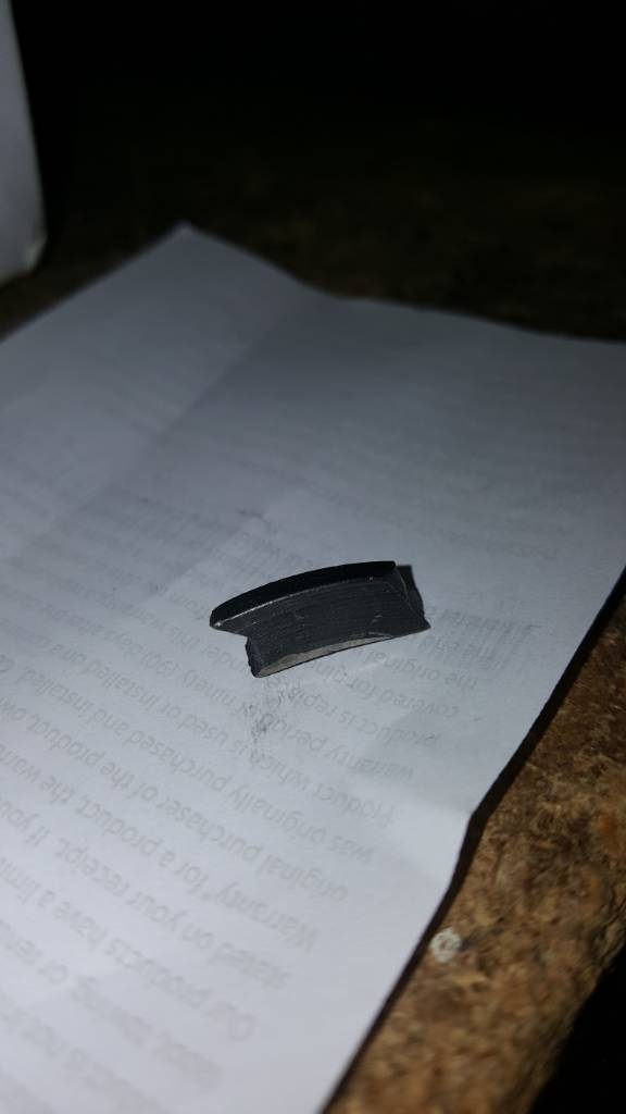 metal piece found on transmission oil drain plug