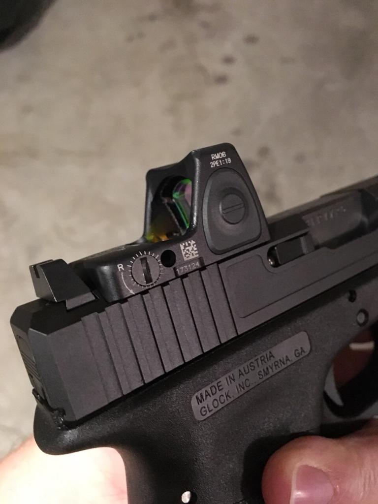 WTS Gen3 Glock 17 w/RMR06, Custom Slide, Holster, extra
