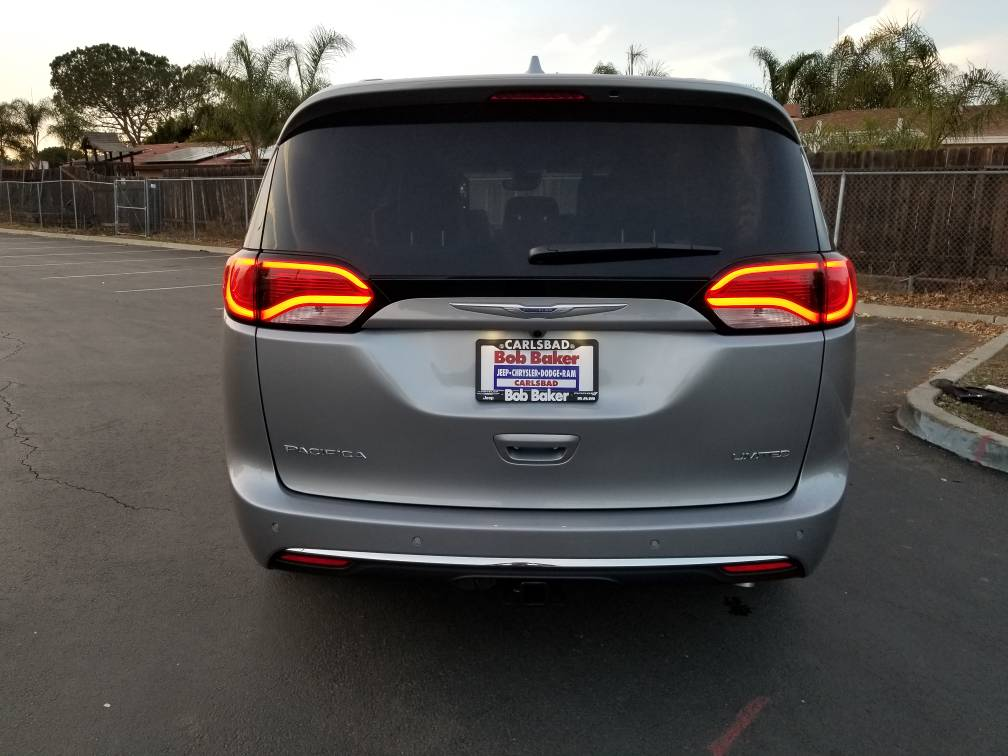 New 2018 Limited With Hud Mod 2017 Chrysler Pacifica