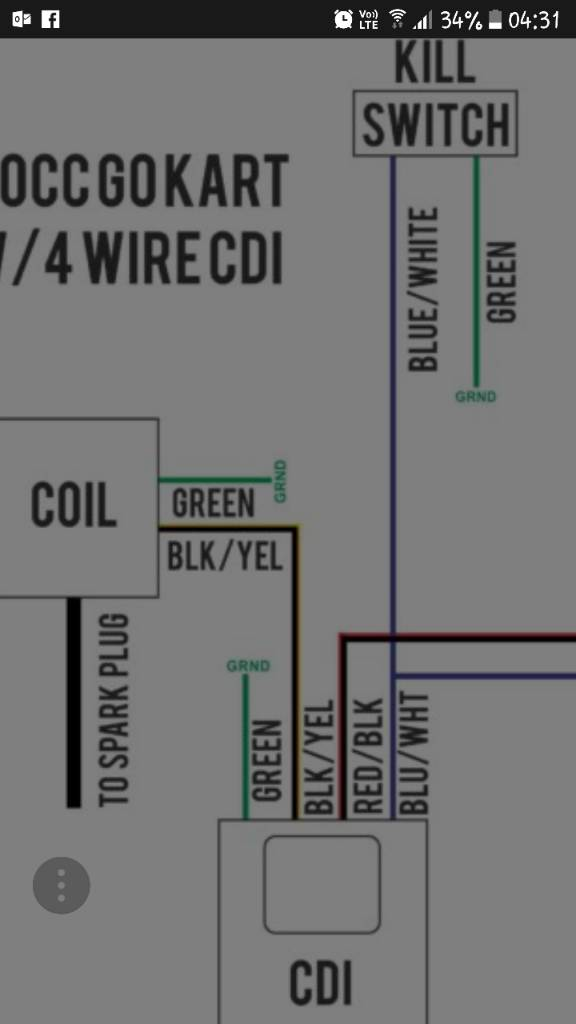 Converting 5 Pin Ac Cdi To 4 Pin Dc Cdi Any Good Mini Dirt Bikes Pit Bikes Forum