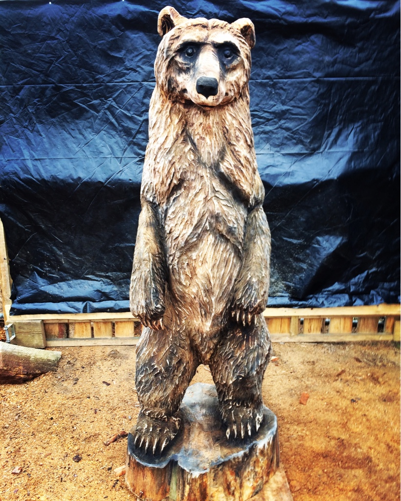 Grizzly bear chainsaw carving forum arbtalk the