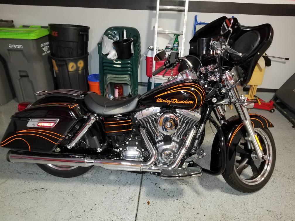 New customized Dyna Switchback - Harley Davidson Forum