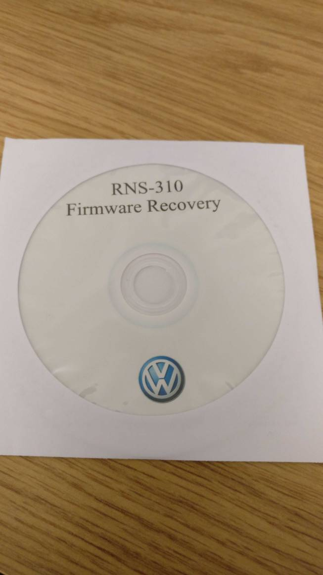 RNS-310 Firmware Recovery CD | SEATCupra net Forums
