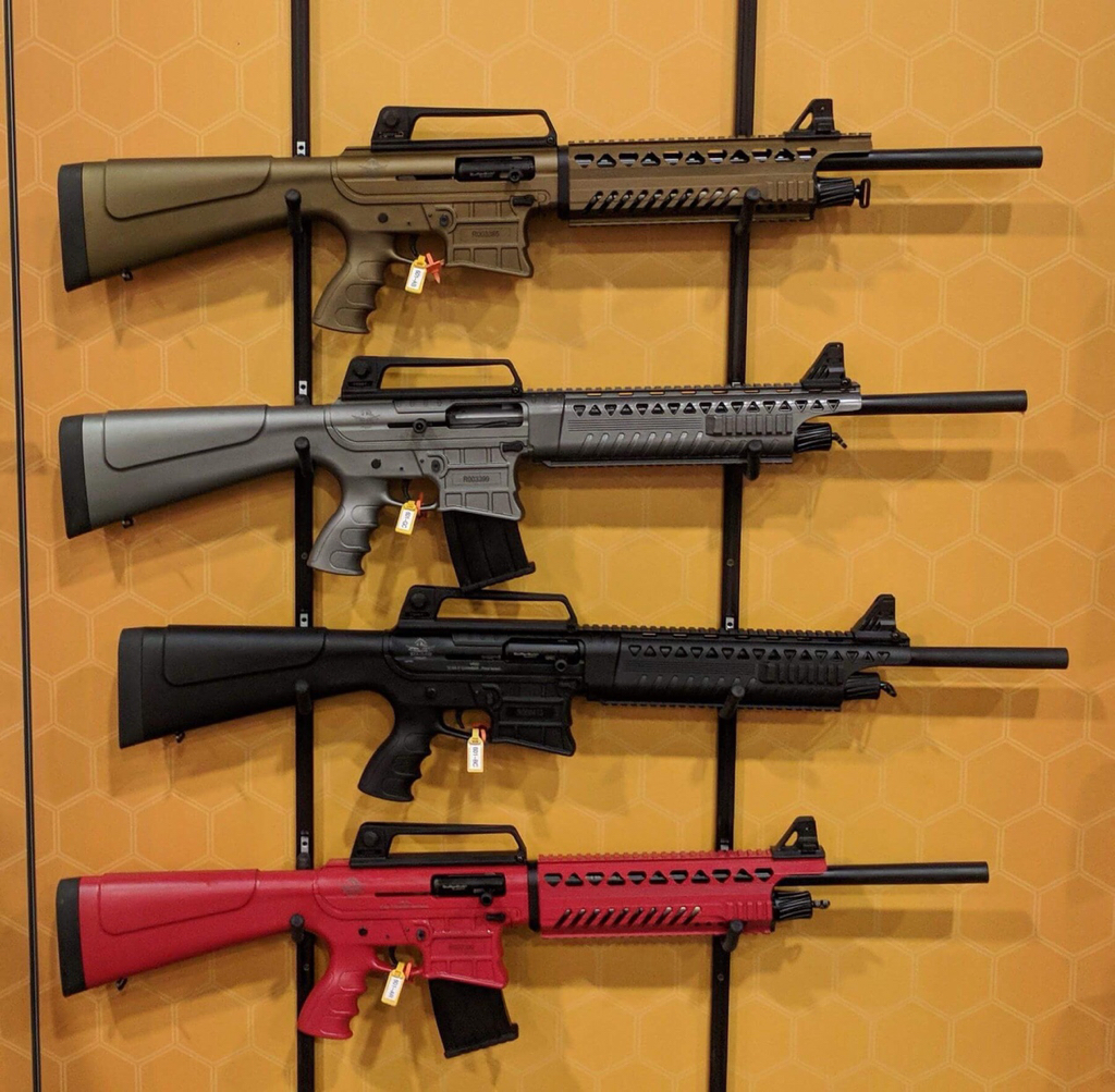 Sneak peek: RIA AR style 12 gauge shotguns - Calguns net
