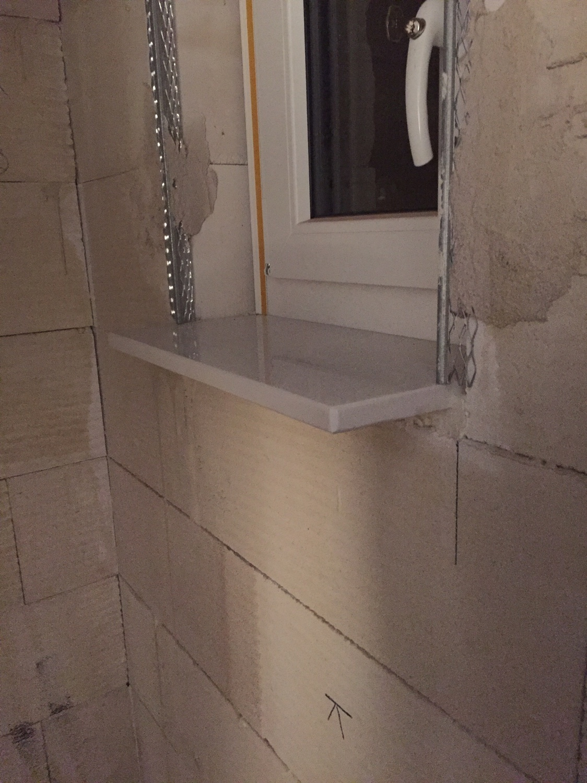 Fensterbänke innen - Welche Tiefe bzw Überstand?