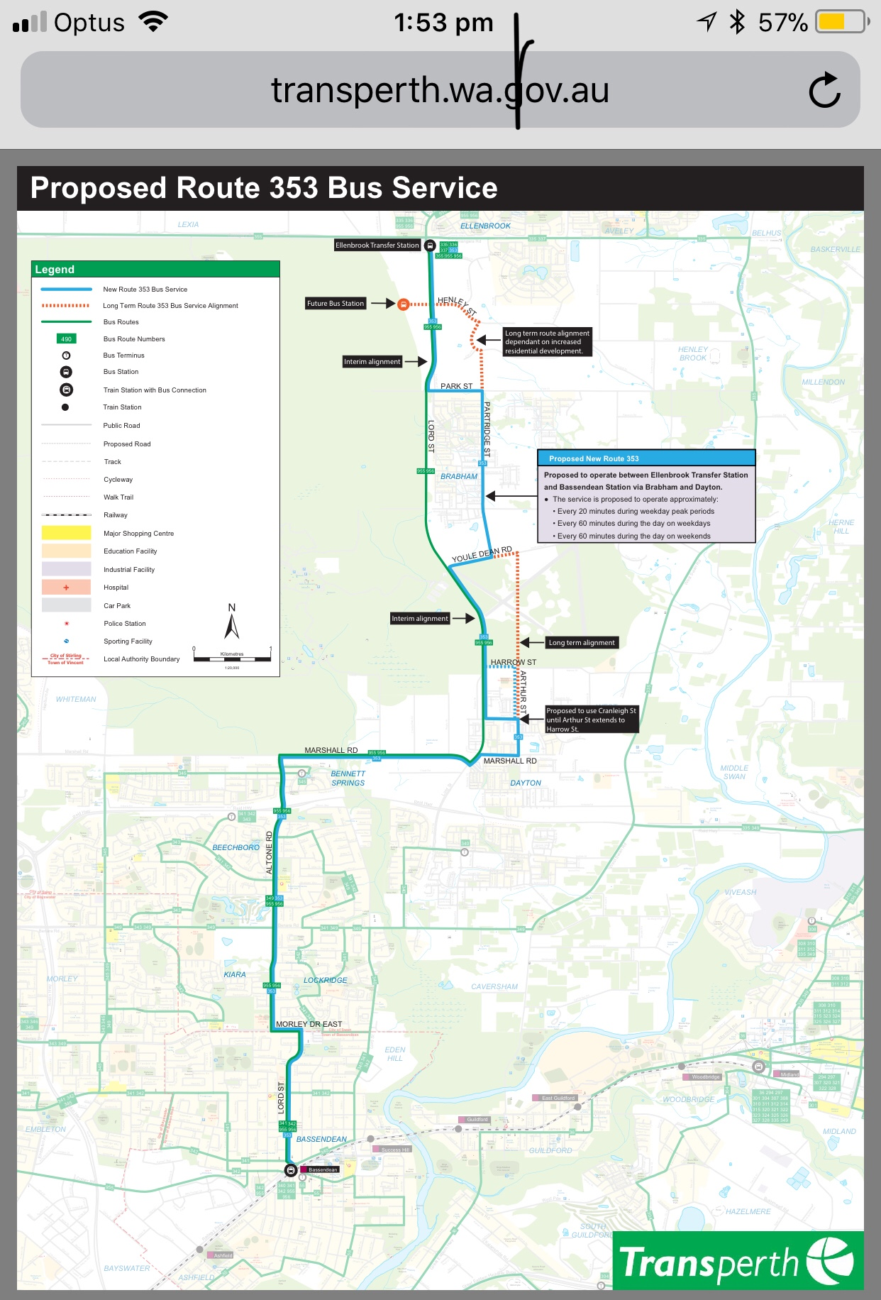 Atdb View Topic Transperth Service Changes 2018