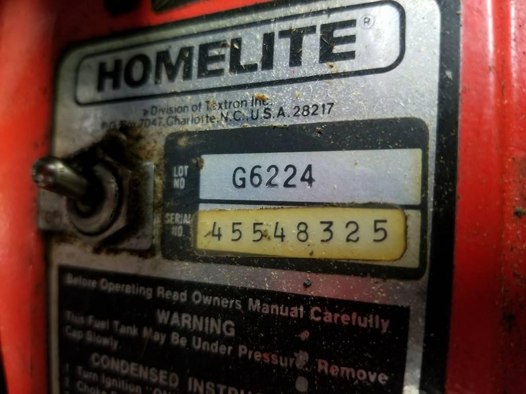 Is a Homelite Super 2 Worth Messing With?   Arboristsite com