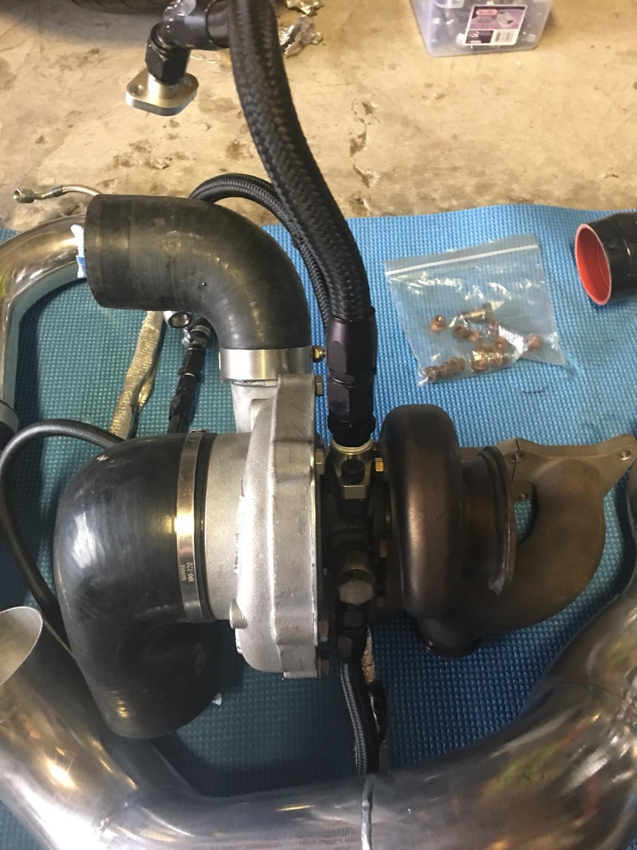 PagParts GT3071r turbo kit - like new - VWVortex com