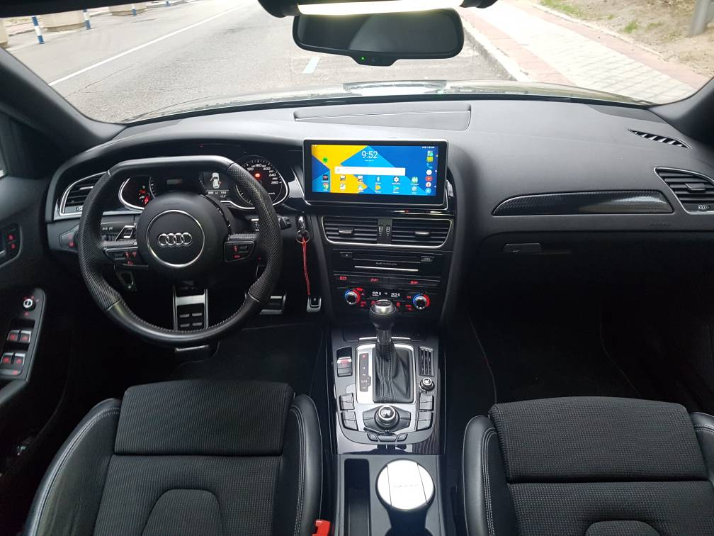 a4 b8 aftermarket head unit    is it possible