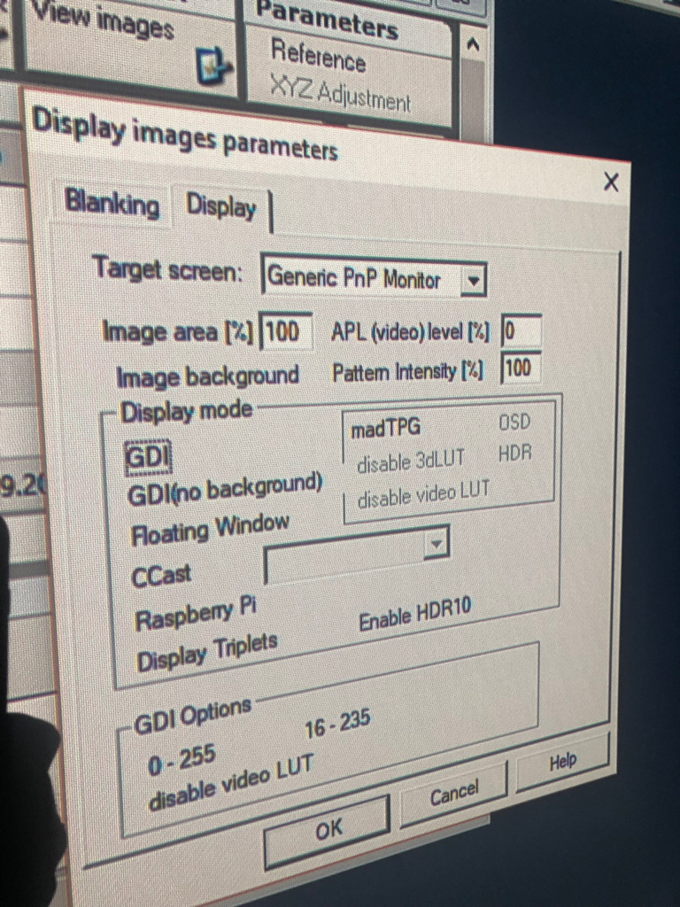 HCFR - Open source projector and display calibration