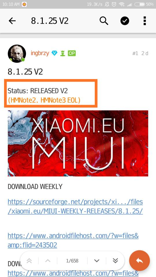 MIUI 9 3 - 8 1 25 V2 | Xiaomi European Community