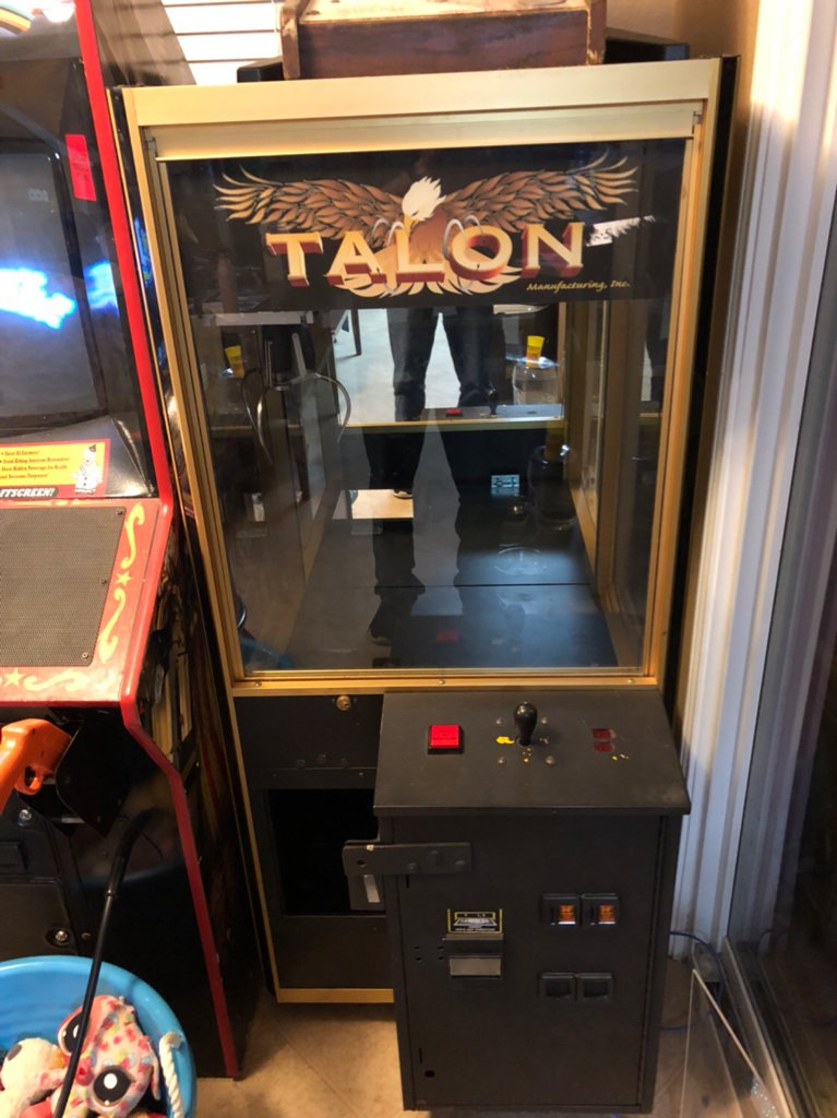 talon claw machine keeps resetting klov vaps coin op videogame rh forums arcade museum com Portable Boom Cranes Liftmoore 3200 Crane Manual