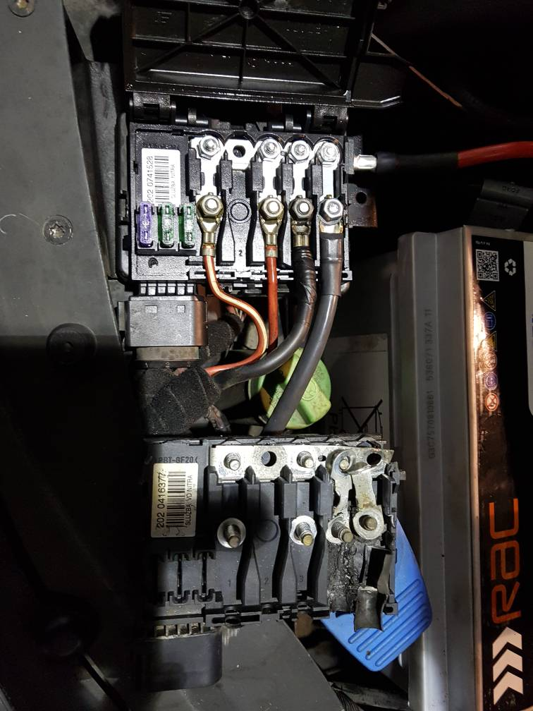 Additional Fuse Box Wiring    Vw Sharan