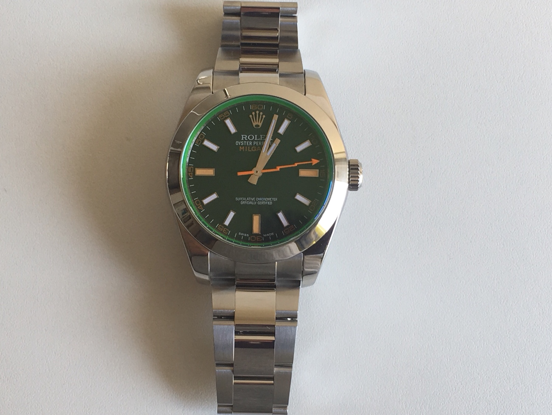 Replica Rolex Milgauss 116400GV - Ρολόγια Replica